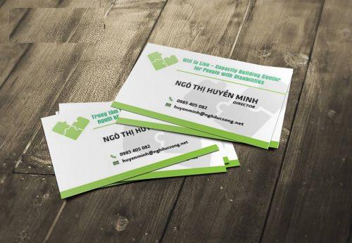 Chọn in name card bằng giấy mỹ thuật